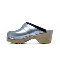 Silver Clogs