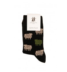 Socks Cai Black