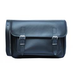 sac en cuir noir skolväska taille: 34 cm 25 cm